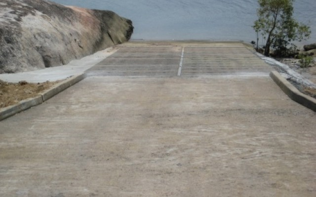 AIMS - Replacement of Failed Section of Boat Ramp