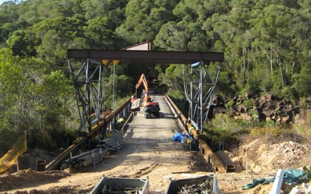 Koombooloomba Bridge Deck