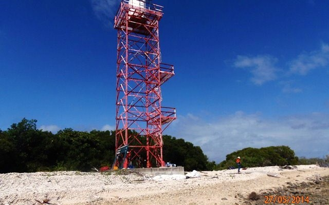 Demolition of 3 AMSA Aid to Navigation Towers