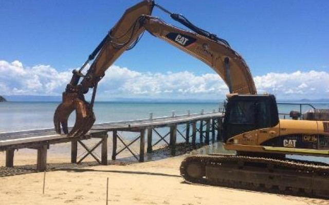 Orpheus Island Jetty Construction