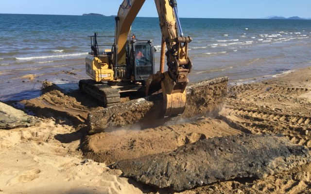 Cowley Beach Boat Ramp Maintenance