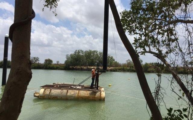 Burketown Jetty - Fender Piles Replacement