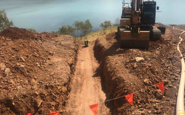 Dugald River Tailings Dam Road Construction