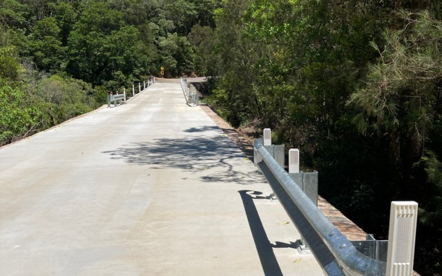 Upgrade Tully River Bridge at Intake Weir